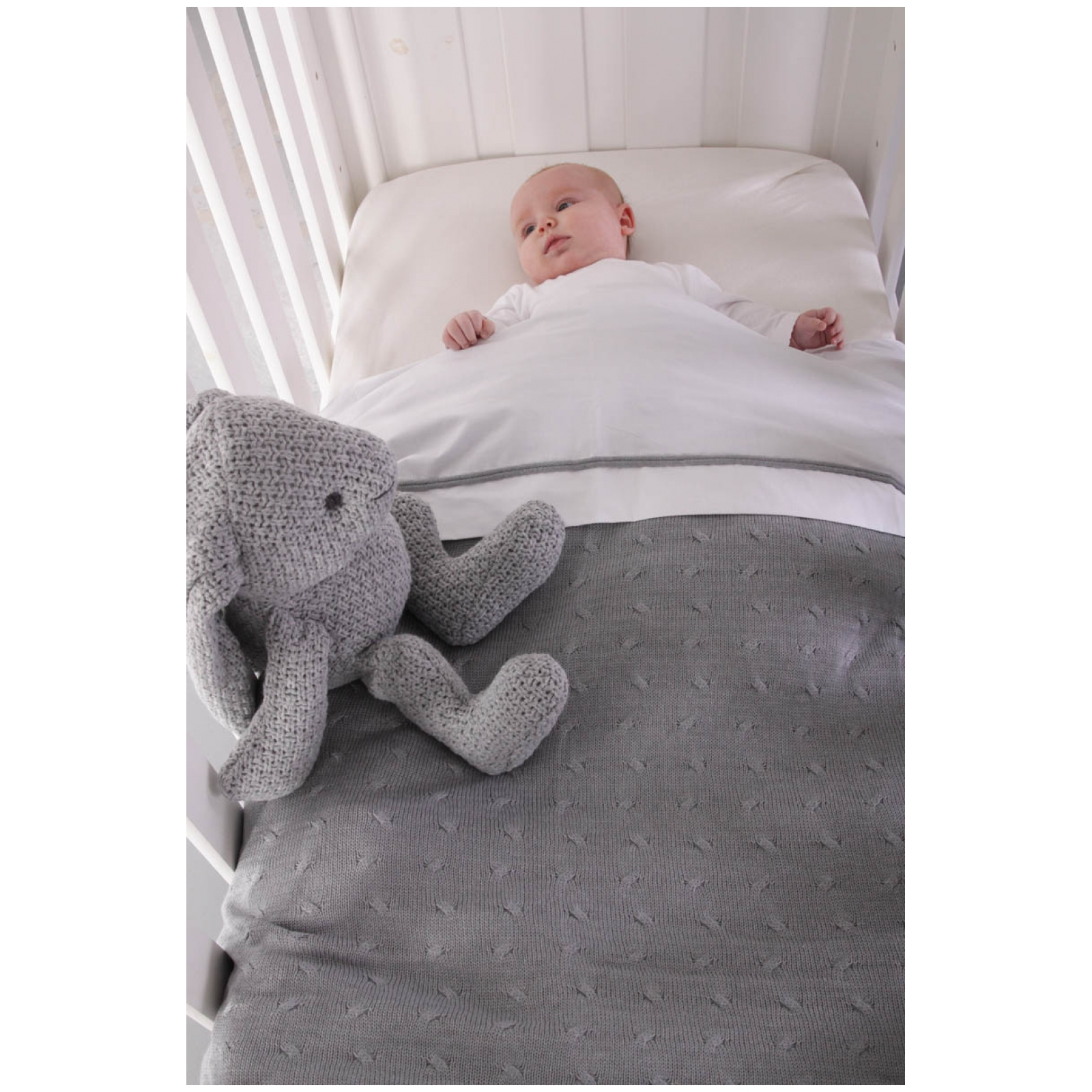 Baby's Only Cable Duvet Cover-0