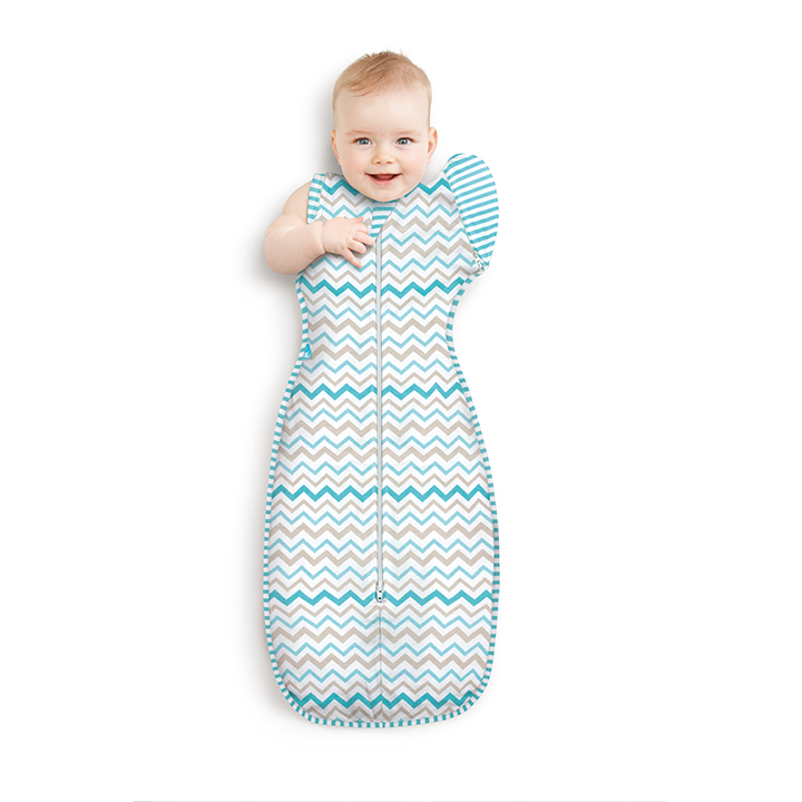 Love to Dream Swaddle Up 50/50 - Large 8.5 - 11kg - Zig Zag-0