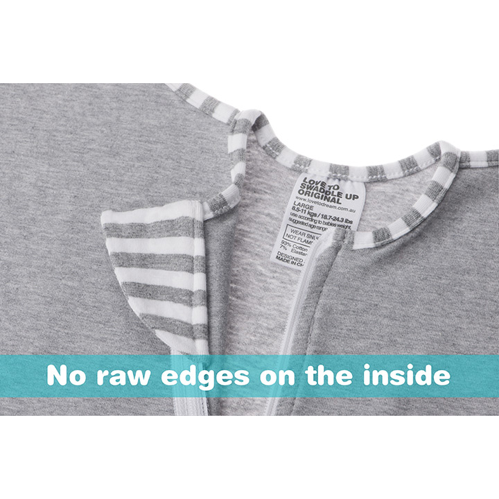 Love To Dream Swaddle Original - Stage 1 - Grey Large 8.5 - 11kg-3792
