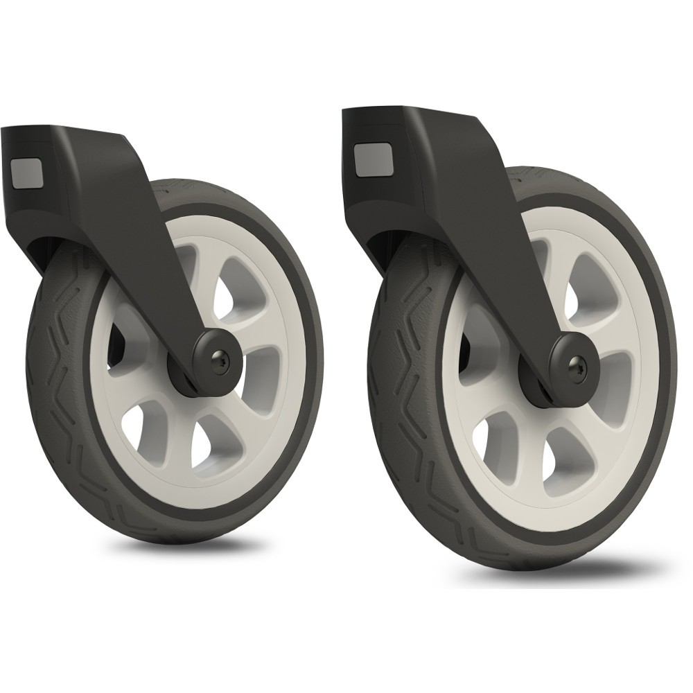 Joolz Day 2 All Terrain Swivel Wheels (Silver)-0