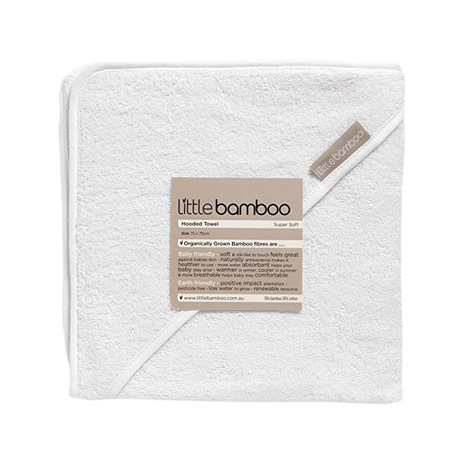 Little Bamboo Hooded Towel-0